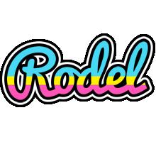 Rodel circus logo