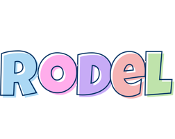Rodel pastel logo
