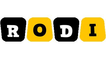 Rodi boots logo