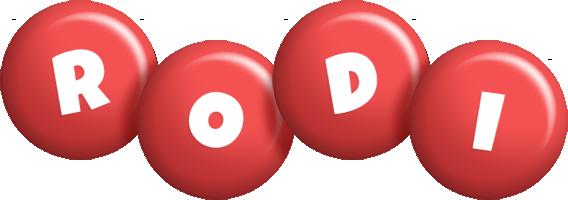 Rodi candy-red logo