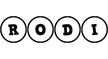 Rodi handy logo
