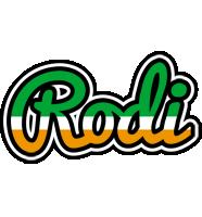 Rodi ireland logo