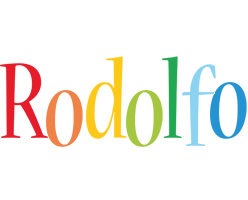 Rodolfo birthday logo