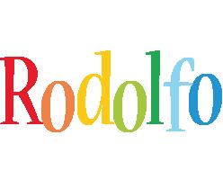 Rodolfo birthday logo
