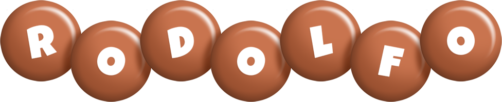 Rodolfo candy-brown logo