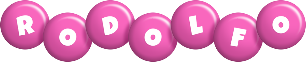 Rodolfo candy-pink logo