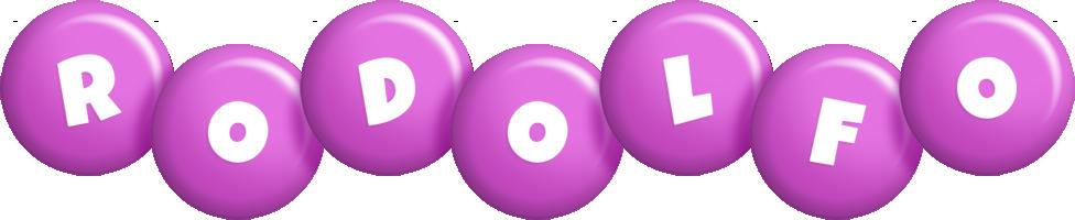 Rodolfo candy-purple logo