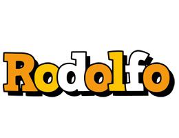 Rodolfo cartoon logo