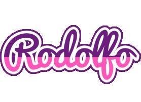 Rodolfo cheerful logo