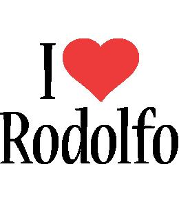 Rodolfo i-love logo
