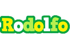 Rodolfo soccer logo