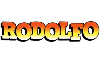 Rodolfo sunset logo