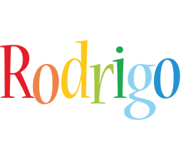 Rodrigo birthday logo