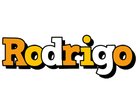 Rodrigo cartoon logo