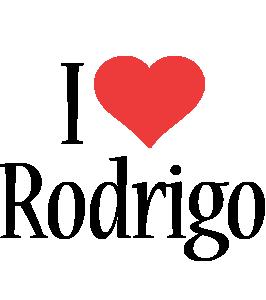 Rodrigo i-love logo