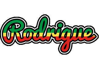 Rodrigue african logo