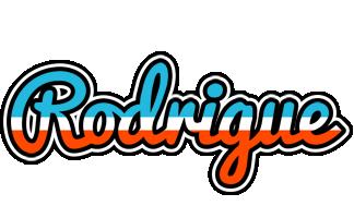 Rodrigue america logo