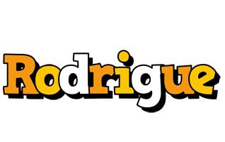Rodrigue cartoon logo