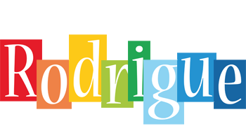 Rodrigue colors logo