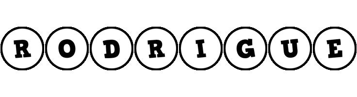 Rodrigue handy logo