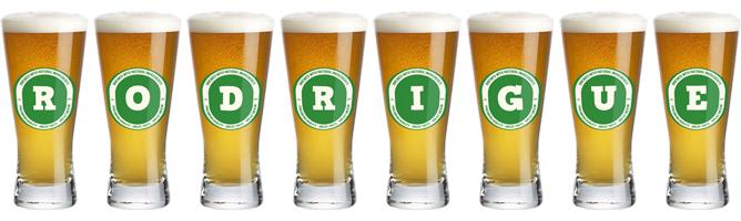 Rodrigue lager logo
