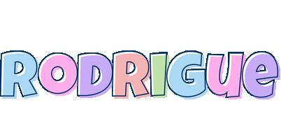 Rodrigue pastel logo