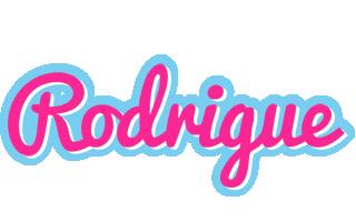 Rodrigue popstar logo