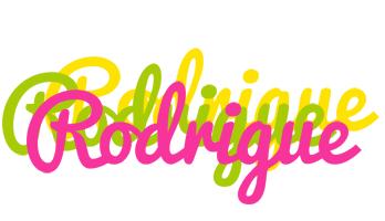 Rodrigue sweets logo