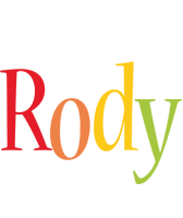 Rody birthday logo