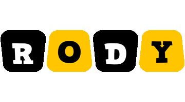 Rody boots logo