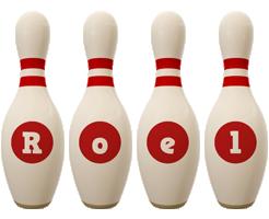 Roel bowling-pin logo