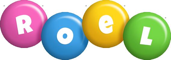 Roel candy logo