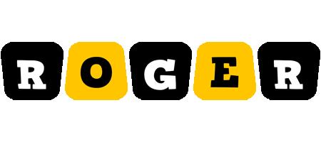 Roger boots logo