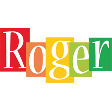 Roger colors logo