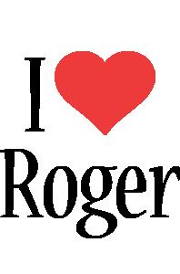 Roger i-love logo