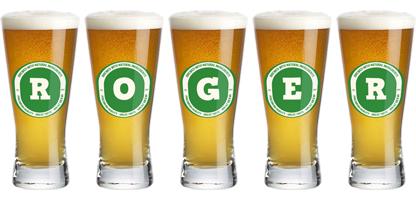 Roger lager logo