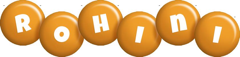 Rohini candy-orange logo