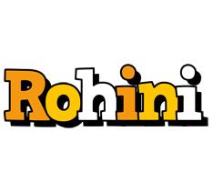 Rohini cartoon logo