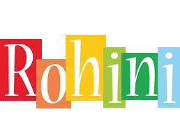 Rohini colors logo