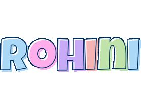 Rohini pastel logo