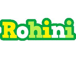 Rohini soccer logo