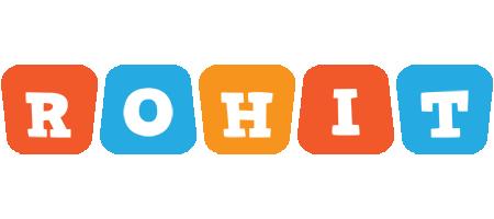 Rohit comics logo