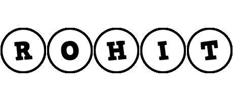 Rohit handy logo
