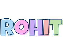 Rohit pastel logo