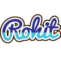 Rohit raining logo