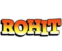 Rohit sunset logo