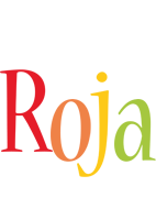 Roja birthday logo