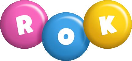 Rok candy logo