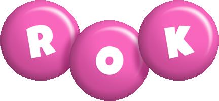 Rok candy-pink logo