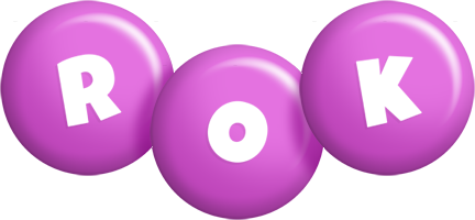 Rok candy-purple logo